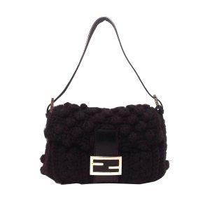 Fendi Knitted Wool Mamma Baguette