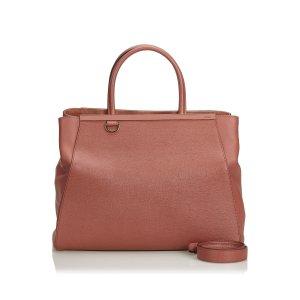 Fendi Leather 2 Jours Satchel