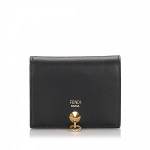 Fendi Leather Bifold Wallet
