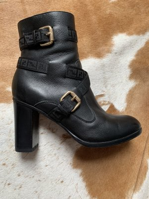Fendi leather boots