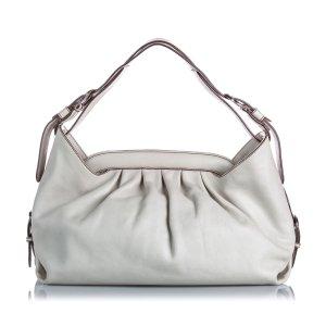 Fendi Leather Borsa Doctor Shoulder Bag