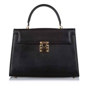 Fendi Business Bag black leather