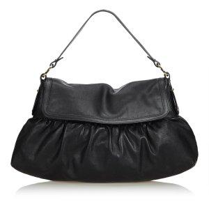 Fendi Leather Chef Shoulder Bag