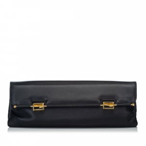 Fendi Leather Clutch Bag