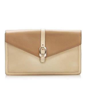 Fendi Leather Clutch Bag