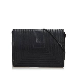 Fendi Leather Crossbody Bag