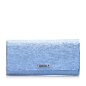 Fendi Leather Long Wallet