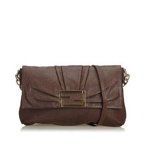 Fendi Leather Mia Crossbody Bag