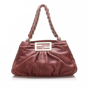 Fendi Leather Mia Shoulder Bag