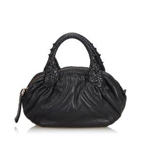Fendi Leather Mini Spy Hobo Bag