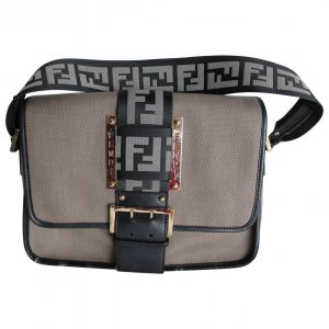 Fendi Leinentasche/ Fendi Borsa Tape Bag Canvas
