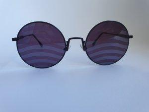 Fendi Gafas de sol redondas violeta oscuro