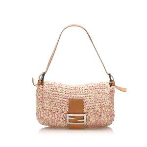 Fendi Mamma Baguette Cotton Bag