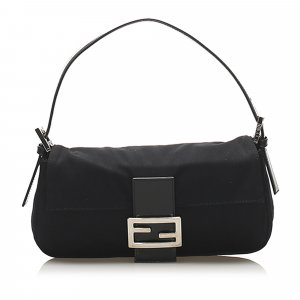 Fendi Mamma Canvas Baguette