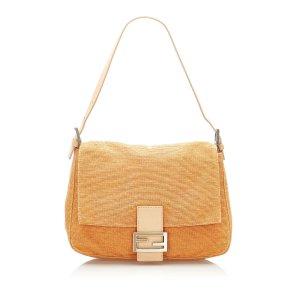 Fendi Mamma Forever Canvas Shoulder Bag