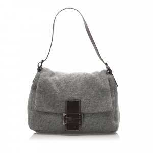 Fendi Mamma Forever Cotton Shoulder Bag