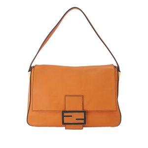 Fendi Mamma Forever Leather Shoulder Bag