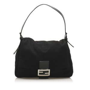 Fendi Mamma Wool Shoulder Bag