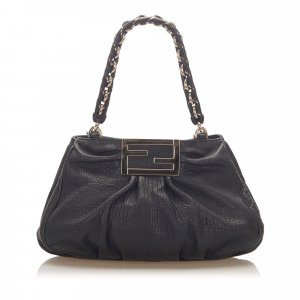 Fendi Mia Leather Shoulder Bag