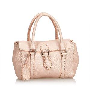 Fendi Mini Linda Leather Handbag