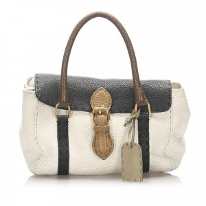 Fendi Mini Selleria Linda Leather Handbag