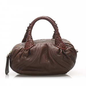 Fendi Mini Spy Leather Handbag