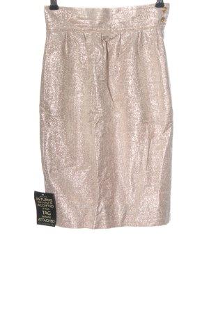 Fendi Minigonna oro elegante