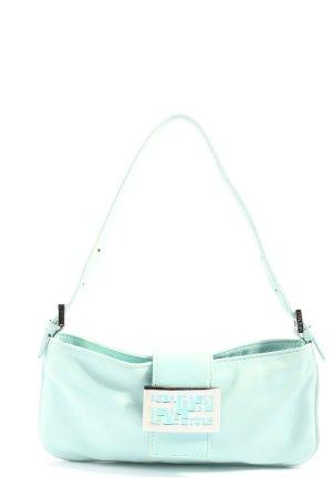 Fendi Mini Bag turquoise casual look