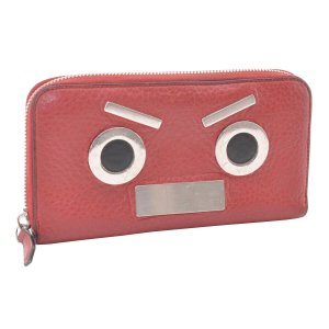 Fendi Monster leather Wallet