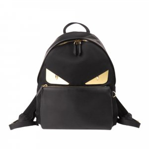 Fendi Monster Nylon Backpack
