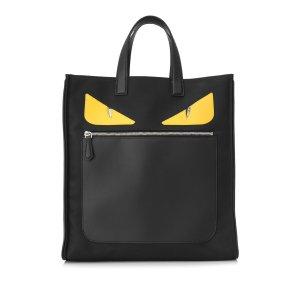 Fendi Monster Nylon Tote Bag