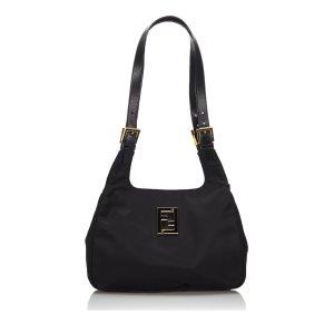 Fendi Shoulder Bag black nylon