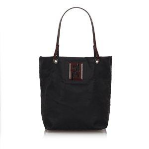 Fendi Nylon Tote Bag