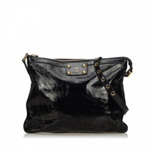 Fendi Patent Leather Crossbody Bag