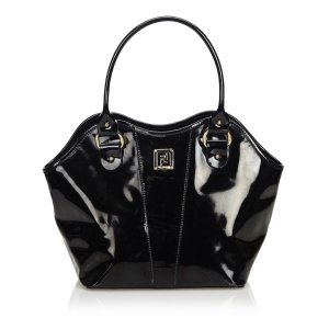 Fendi Patent Leather Handbag
