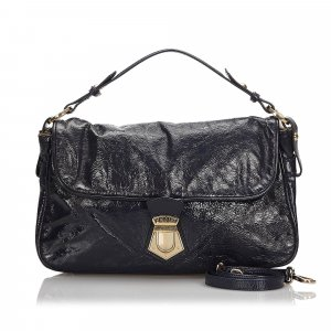 Fendi Patent Leather Satchel