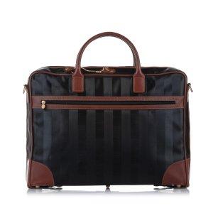 Fendi Pequin Nylon Travel Bag