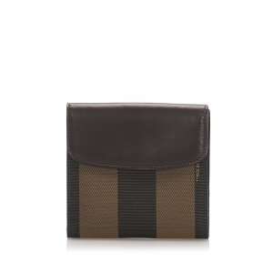 Fendi Pequin Small Wallet