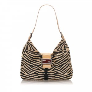Fendi Pony Hair Shoulder Bag