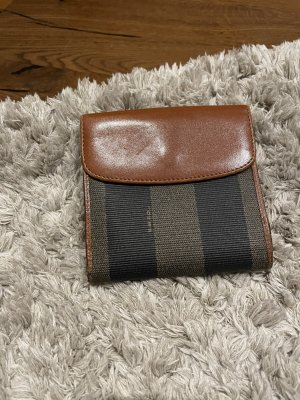 Fendi Portemonnaie Geldbeutel Geldbörse Braun Brieftasche Wallet