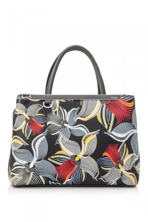 Fendi Tote white leather