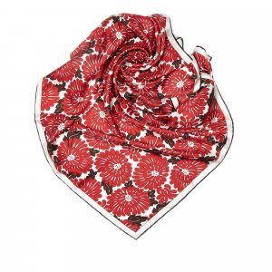 Fendi Printed Silk Scarf