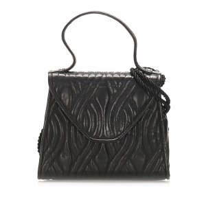 Fendi Quilted Leather Satchel