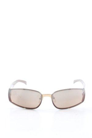 Fendi Gafas Retro marrón look casual