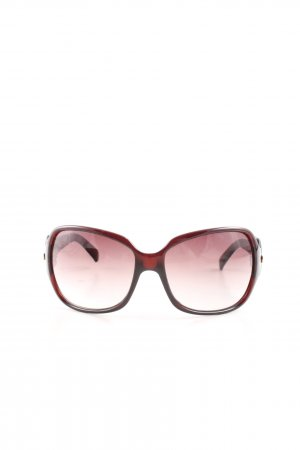 Fendi Retro Brille braun Casual-Look