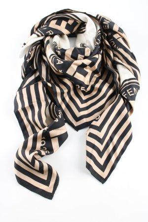 Fendi Shoulder Scarf themed print casual look