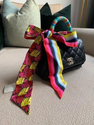 Fendi Bufanda de seda multicolor Seda