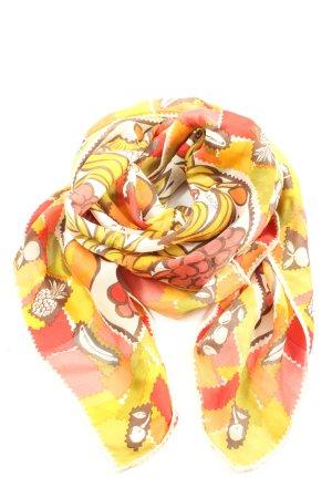 Fendi Pañuelo de seda estampado repetido sobre toda la superficie look casual