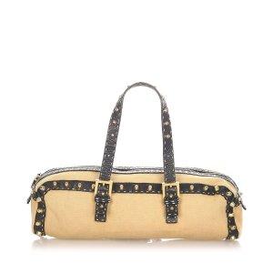 Fendi Selleria Canvas Handbag