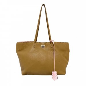 Fendi Selleria Carla Leather Tote Bag